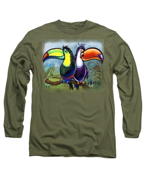 Toucans Long Sleeve T-Shirt by Kevin Middleton