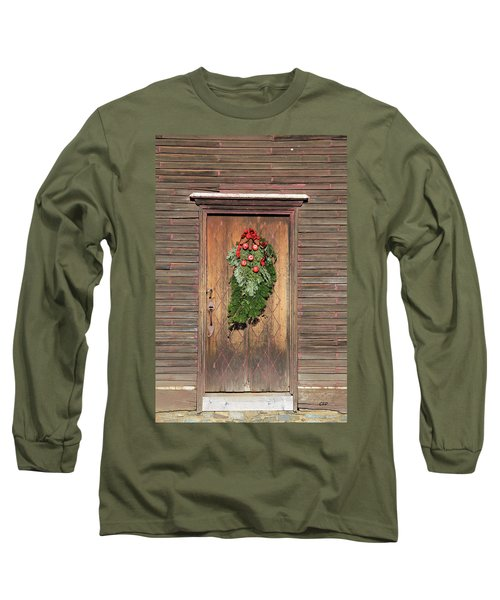 Touch Of Christmas Long Sleeve T-Shirt