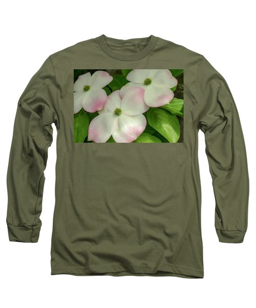 Touch Of Pink2 Long Sleeve T-Shirt