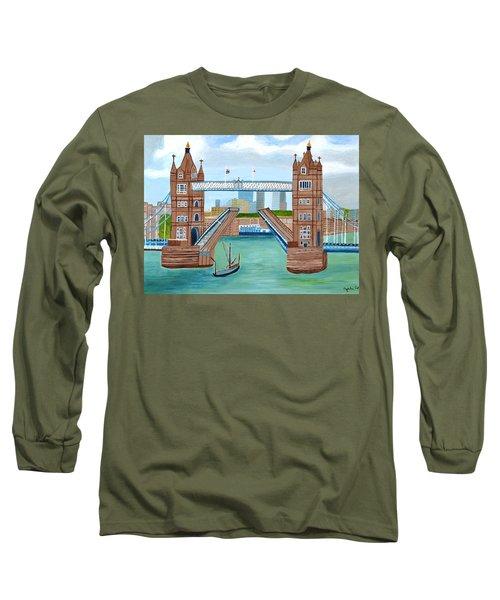 Tower Bridge London Long Sleeve T-Shirt