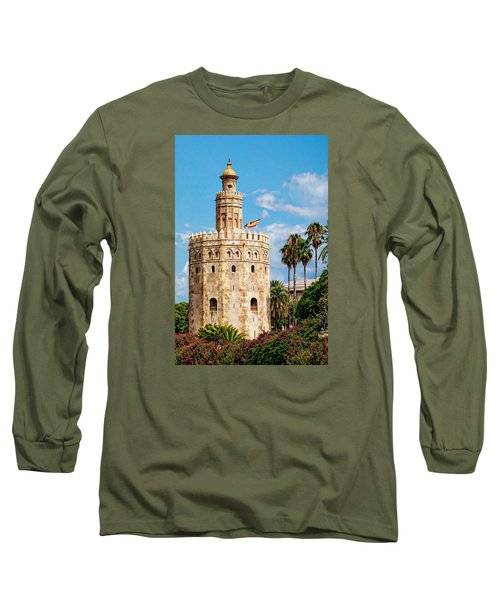 Tower Of Gold Long Sleeve T-Shirt