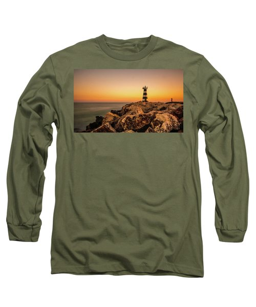 Long Sleeve T-Shirt featuring the photograph Tower Of Light by Nick Bywater