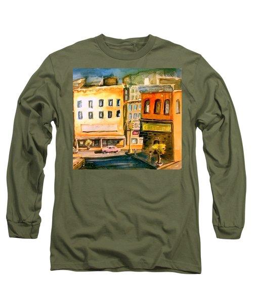 Town Long Sleeve T-Shirt by Steven Holder