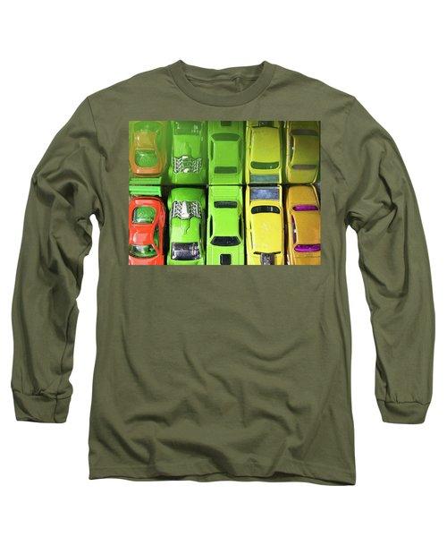 Toy Cars Long Sleeve T-Shirt