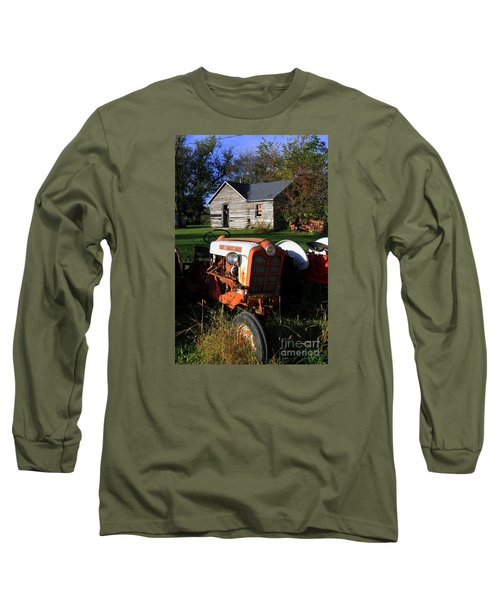 Tractor And Shed Long Sleeve T-Shirt