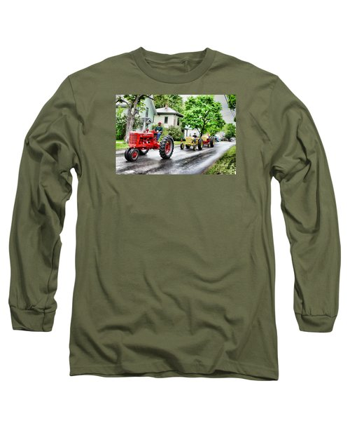 Tractors On Parade Long Sleeve T-Shirt