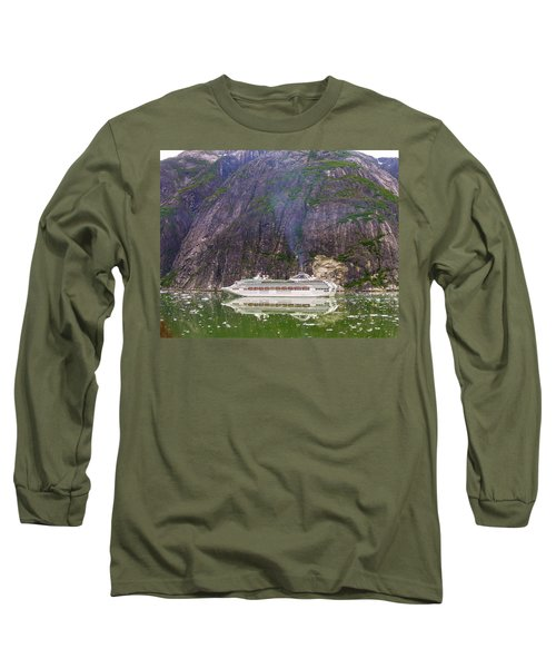 Tracy Arm Fjord Long Sleeve T-Shirt by Jim Mathis