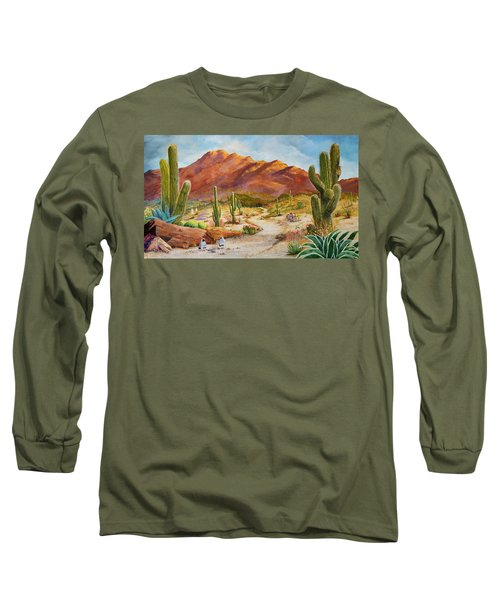 Trail To The San Tans Long Sleeve T-Shirt
