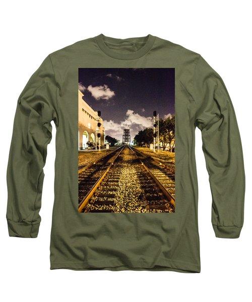 Train Tracks Long Sleeve T-Shirt
