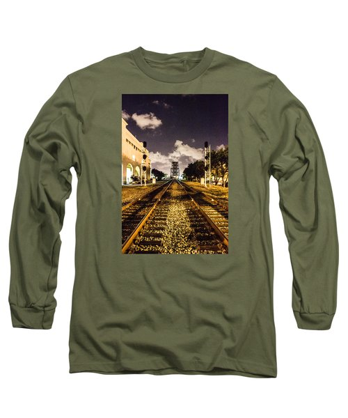 Train Tracks Long Sleeve T-Shirt
