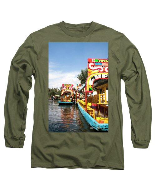 Trajineras Long Sleeve T-Shirt