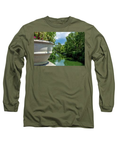 Tranquil Garden Long Sleeve T-Shirt