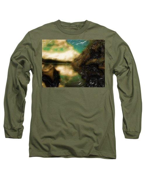 Tranquil Nature Awaits Long Sleeve T-Shirt