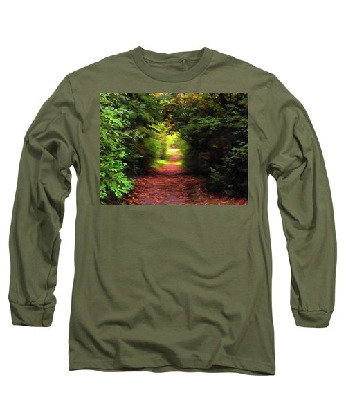Tranquil Pond Long Sleeve T-Shirt
