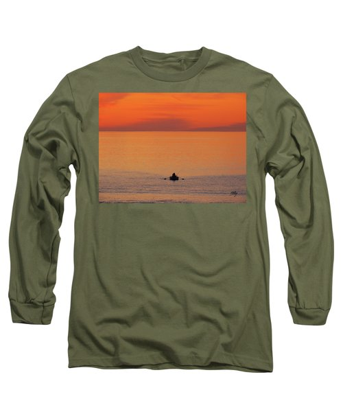 Tranquililty Long Sleeve T-Shirt by Linda Hollis