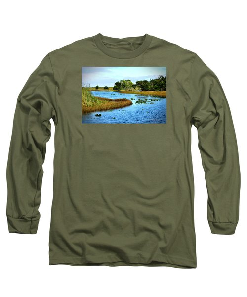 Tranquility... Long Sleeve T-Shirt by Edgar Torres