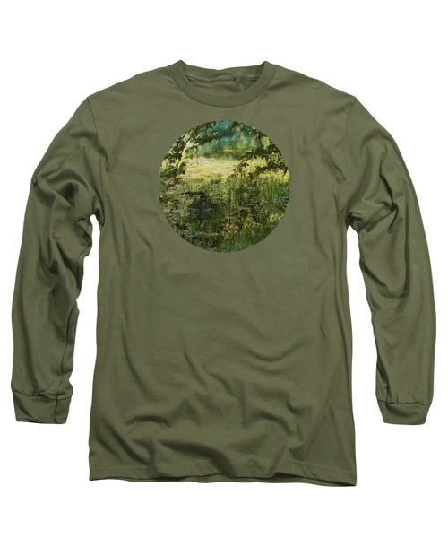 Tranquility Long Sleeve T-Shirt by Mary Wolf
