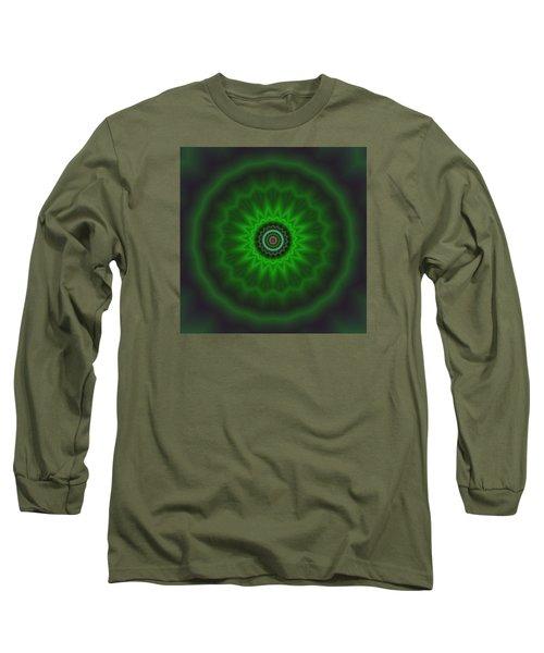 Long Sleeve T-Shirt featuring the digital art Transition Flower 2 by Robert Thalmeier