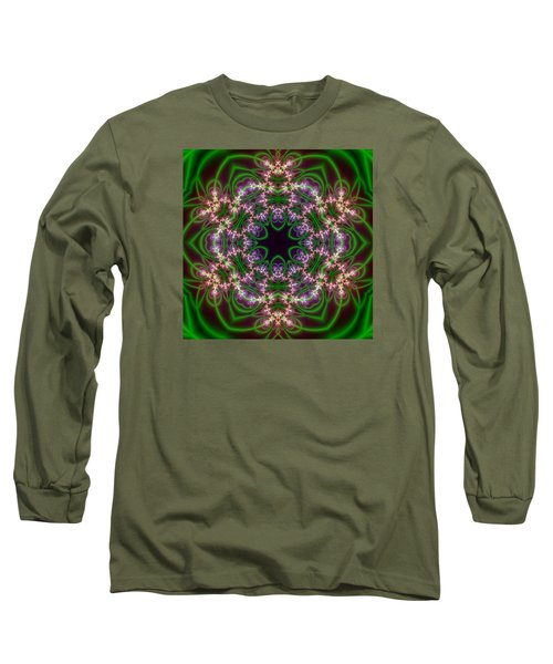Transition Flower 6 Beats Long Sleeve T-Shirt by Robert Thalmeier