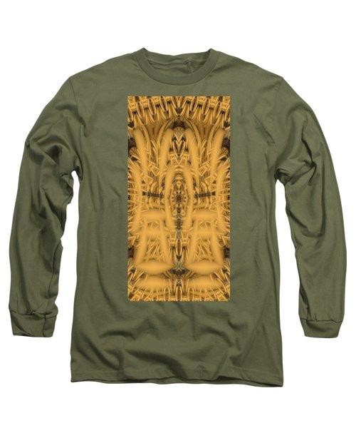 Shrine Long Sleeve T-Shirt by Ron Bissett