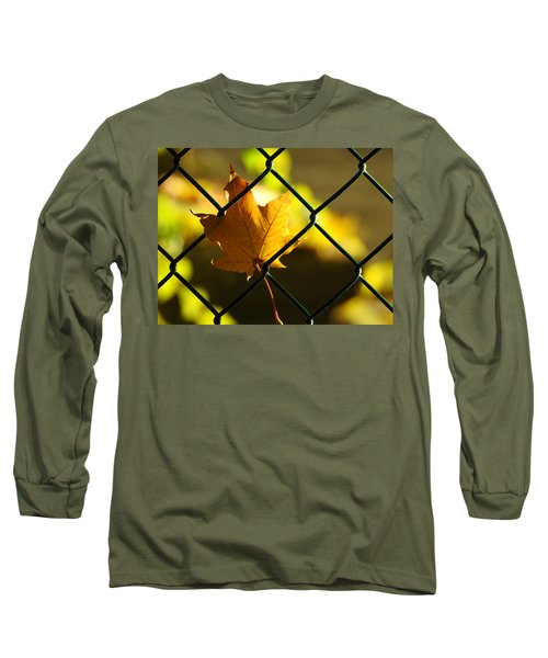 Trapped Long Sleeve T-Shirt by Betty-Anne McDonald