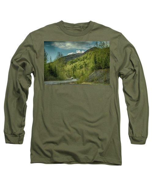 Traveling Alaska   Long Sleeve T-Shirt