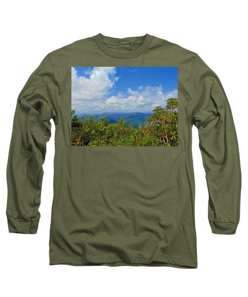 Tray Mountain Summit - South Long Sleeve T-Shirt
