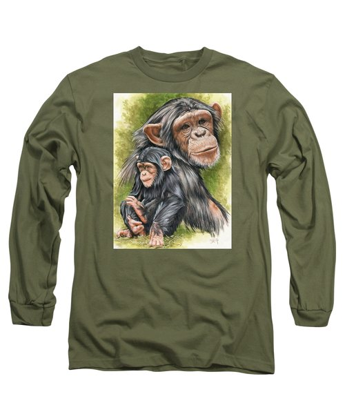 Long Sleeve T-Shirt featuring the mixed media Treasure by Barbara Keith