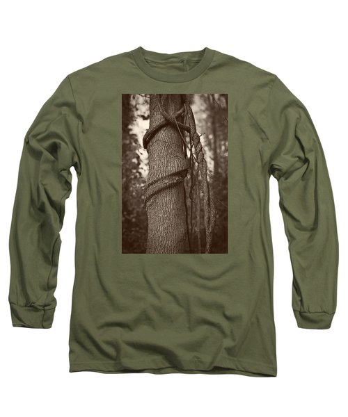 Tree 5 Long Sleeve T-Shirt by Simone Ochrym
