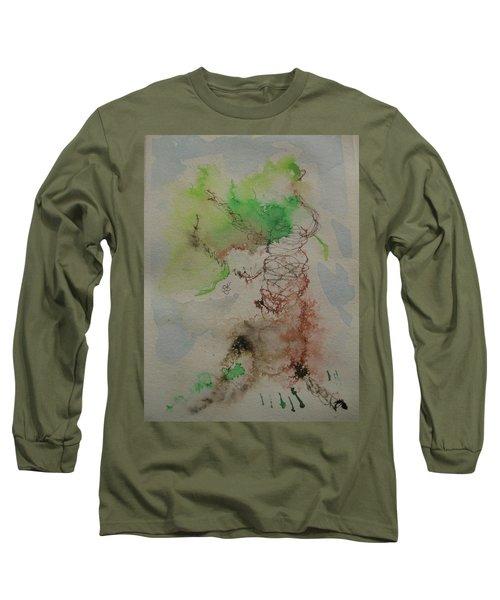 Tree Long Sleeve T-Shirt by AJ Brown