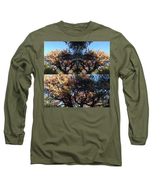 Long Sleeve T-Shirt featuring the photograph Tree Chandelier by Nora Boghossian
