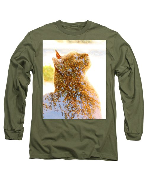 Tree In Cat Long Sleeve T-Shirt