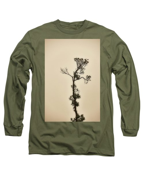 Tree In The Mist Long Sleeve T-Shirt