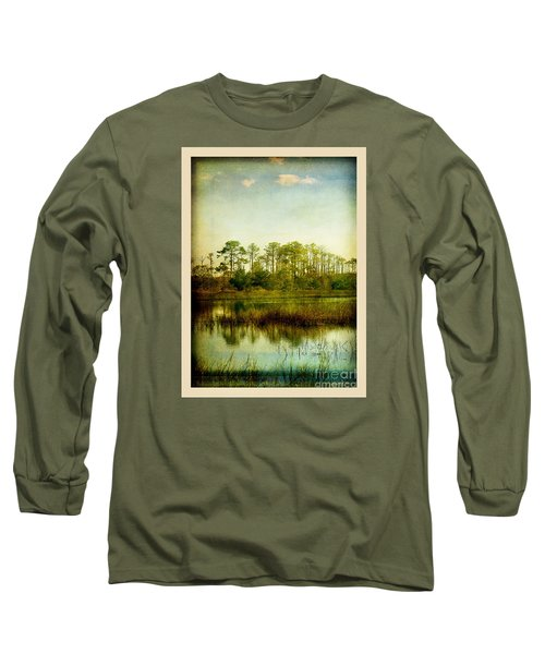 Long Sleeve T-Shirt featuring the photograph Tree Laces by Linda Olsen