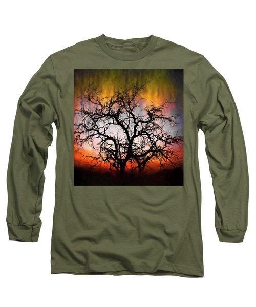 Tree Of Fire Long Sleeve T-Shirt