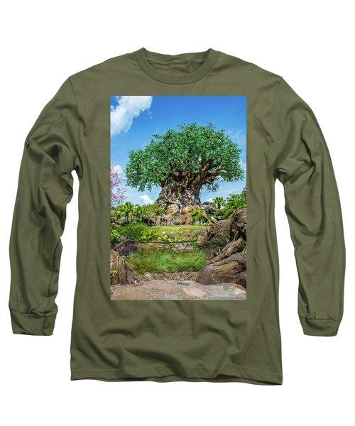 Tree Of Life Long Sleeve T-Shirt by Pamela Williams