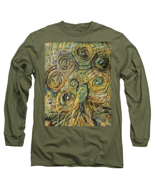 Tree Of Swirls Long Sleeve T-Shirt
