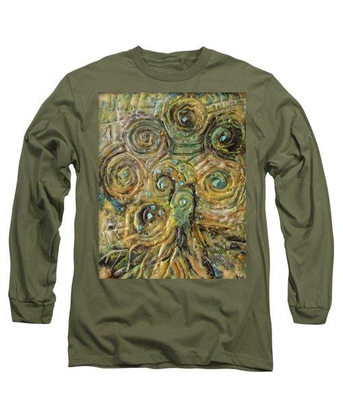 Tree Of Swirls Long Sleeve T-Shirt