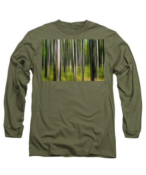 Tree Painting Long Sleeve T-Shirt
