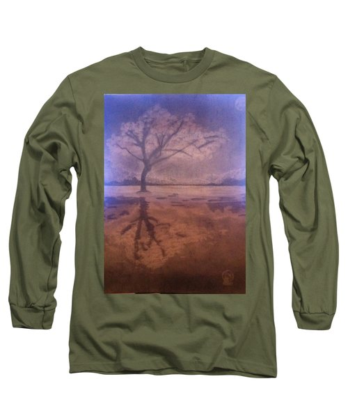Tree Reflection  Long Sleeve T-Shirt