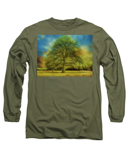 Long Sleeve T-Shirt featuring the photograph Tree Three by Leigh Kemp