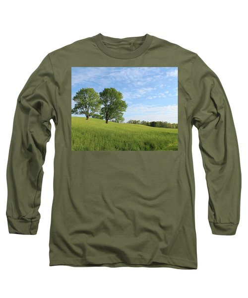 Summer Trees 3 Long Sleeve T-Shirt