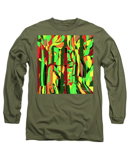 Trees In The Garden Long Sleeve T-Shirt