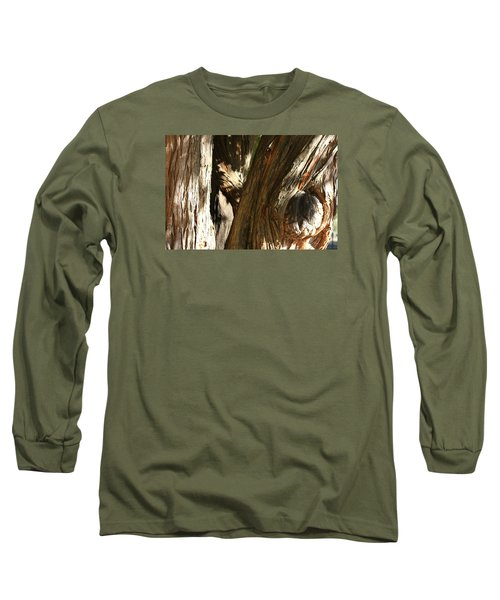 Trees Trunks Long Sleeve T-Shirt by Michele Wilson