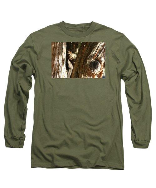 Trees Trunks Long Sleeve T-Shirt