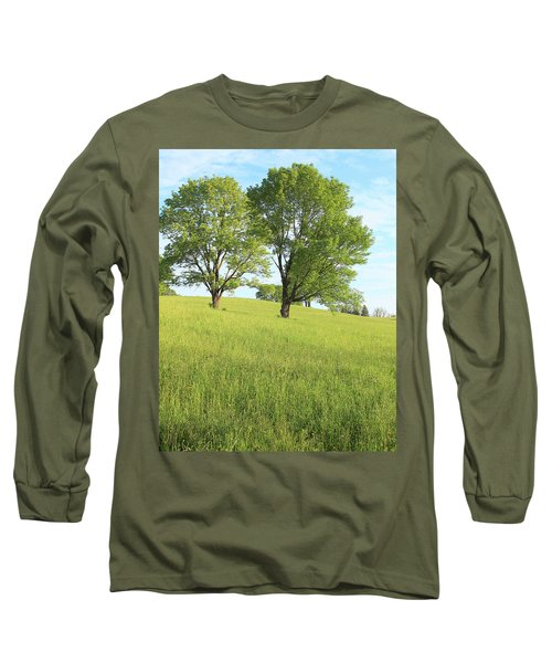 Summer Trees 2 Long Sleeve T-Shirt