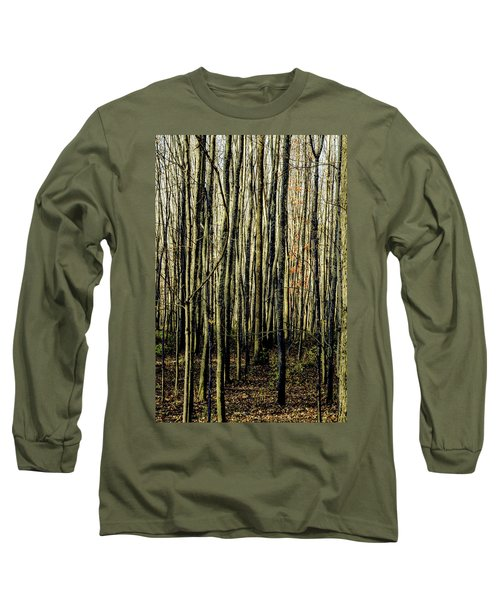 Treez Yellow Long Sleeve T-Shirt
