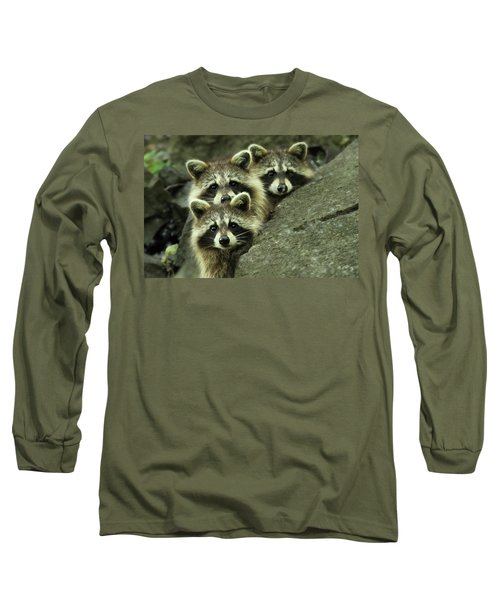 Tres Banditos Long Sleeve T-Shirt by Mircea Costina Photography