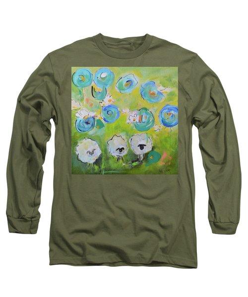 Tres Sheep Long Sleeve T-Shirt