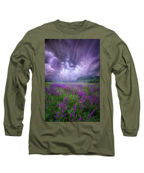 Long Sleeve T-Shirt featuring the photograph Trials And Tribulations by Phil Koch